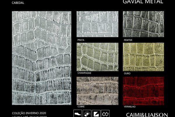 Gavial Metal cart